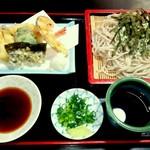 藤庄 - 料理写真:天ざる ¥1140