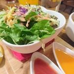 インドレストラン ナンハウス - セットのサラダ