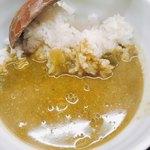 麺や すずらん亭 - 広島菜グリーンカレー