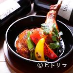 エスニックガーデン - 口中に肉汁溢れる『大山鶏のタンドリーチキン』