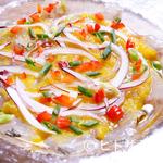 エスニックガーデン - さっぱりとした『鮮魚の南米カルパッチョ』