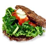 the 3rd Burger - 【期間限定】クレソンローカーボバーガー