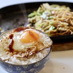 ミナミ - 目玉焼きとご飯