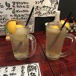 ひなた - ストロングレモンサワー 594円