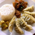 ネパール餃子(モモ)定食