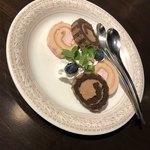 チーズ×チーズ Bistro HAYASHI - ロールケーキ?