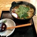 さぬき庵 - 料理写真:鍋やきうどん