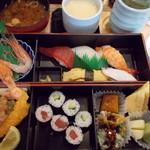 おしどり寿司 - おしどり御膳。972円