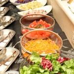 バイキングレストラン カーメル - 新鮮野菜のサラダバー