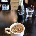 ICON - スープ&コカコーラゼロ