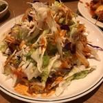 韓国食堂 ジョッパルゲ - チョレギサラダ