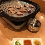 82479087 - 豚レバーの炙り焼き