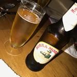 イタリア料理 ボンパスト - イタリアビール
