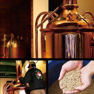 【超貴重!】オリジナルビールの麦汁仕込み体験ができる!