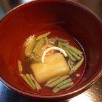 和食すがわら - 椀物 鱧とじゅんさい