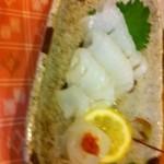 日本料理ききょう - 新鮮イカ刺