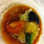 日本料理ききょう - トマトジュレでお洒落なお味