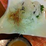 日本料理ききょう - おばけ(くじらの皮辺りの部分)