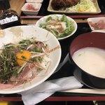 牛○ - サシトロ丼1200円