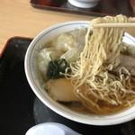 福留軒 - 手揉み縮れ麺