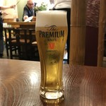秀山亭 - ドリンク写真:ビールからいただきます。