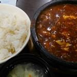 味覚 - 麻婆豆腐中辛の上