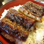 かも川 - 料理写真:うなぎ丼(3,200円・込)