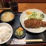 82482502 - ロースカツ定食(1500円)