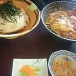 82484479 - ころきしめんとカツ丼のセット(税込980円)