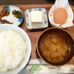醤遊王国 - たまごかけご飯セット500円