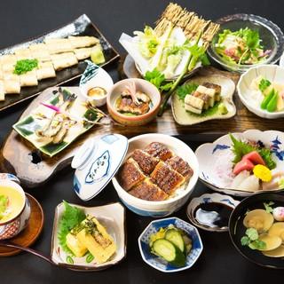 【コース】自慢の料理をたっぷり味わえる御食事コース