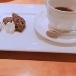 大屋冨幸  - デザートとコーヒー