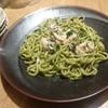 イタリ庵 蕎麦石はら - 料理写真:牡蠣のペペロンチーノ \1400