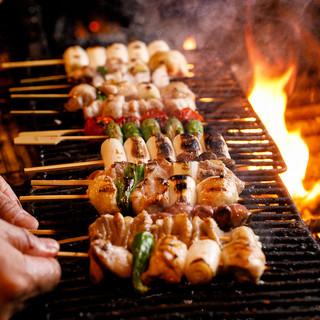 こだわりの串焼きは食べる価値あり!