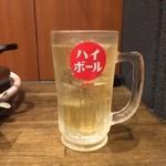 名古屋もつ焼き ひとすじ - 当店一番人気 ラッキーハイボール 飲み放題 大須ちょい飲み 飲み歩き ハッピーアワー
