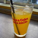 セカンド バナナ - オレンジジュース