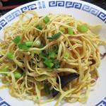 好運来 - 豆腐干絲の和え物が付いて、高蛋白質な中華定食です。