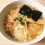 大木 - 鶏清湯・塩