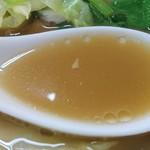 好味苑 - 好味苑 @本蓮沼 タンメン 「博多のあん」様 リスペクト画像 肉野菜炒めの出汁が利いた優しい味
