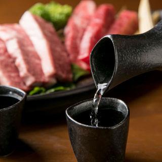 日本一の酒どころ、灘自慢の地酒とお肉のペアリング
