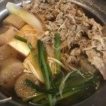 金太郎 - 牛鍋すき焼き   十分です。