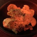 馬の串ん - ブロッコリーとエビのサラダ