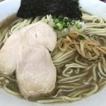 麺屋十郎兵衛 - 煮干拉麺(大盛り)