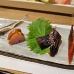 豆菜料理 はなさび - 北海の薫製珍味四種盛り