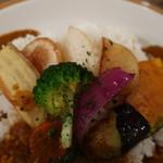 ミナミカレー - 野菜アップ