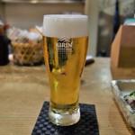 豆菜料理 はなさび - ビール