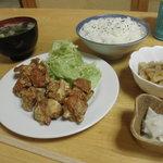 ねぶたや - 料理写真:とりからあげ定食 750円 (2011.3)