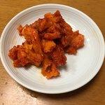 くにを - 料理写真:「くにをの鮭キムチ」864円(伊勢丹新宿店「北海道展」)