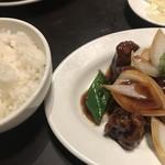 82501676 - 酢豚とご飯