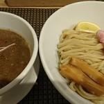セアブラノ神 伏見剛力 - 豚骨魚介つけ麺大盛♪(極太麺)